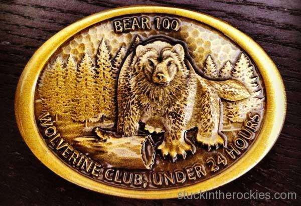 Bear 100 wolverine buckle