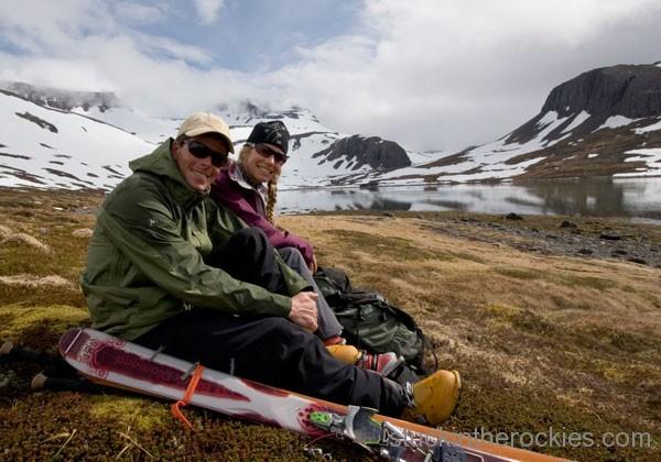 christy mahon ted mahon ski iceland borea adventures