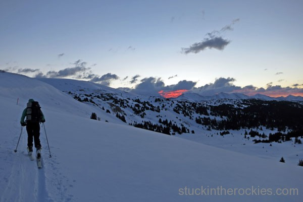 elk mountain grand traverse, taylor pass, christy mahon
