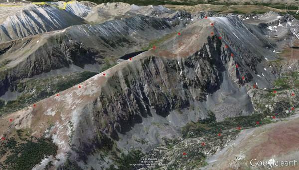 Quandary Peak, Inwood Arete