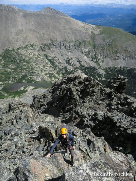 Quandary Peak, Inwood Arete, christy mahon