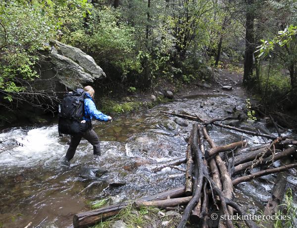 San Isabel creek