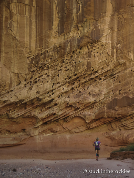 Spring Canyon Utah, capitol reef trailrunning, christy mahon, canyons