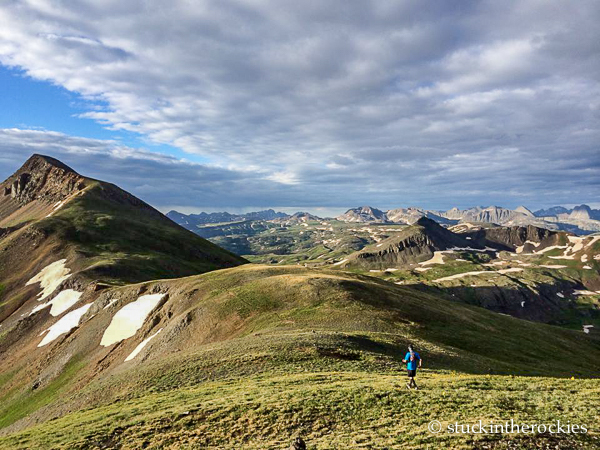 Canby Mountain on the hardrock 100 course