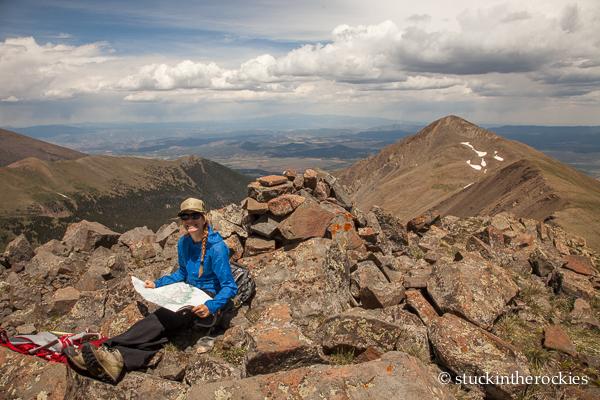 Christy Mahon on Cloud peak