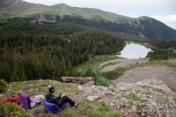 Camping at Lake of the Clouds