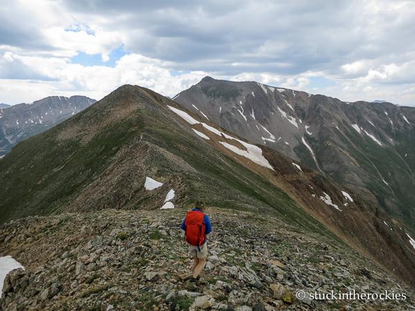 Rinker peak ridge