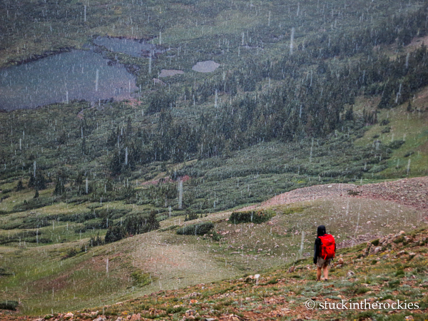 Christy mahon hikes in Big WIllis Gulch