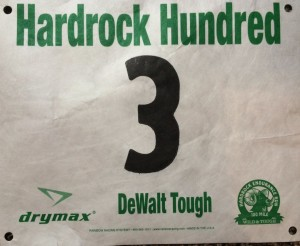 "I like my number. ""Dewalt Tough"" is in regard to John Dewalt, a race veteran who recently passed away."