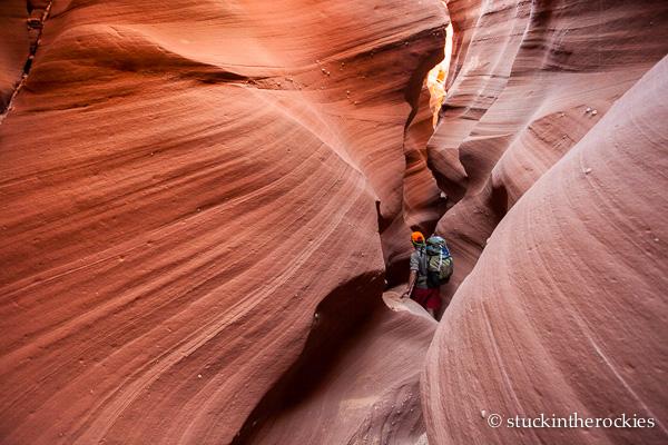 Sean Shean in Water Holes Canyon